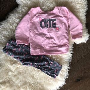 👶3/$13 Child of mine by carters 2 piece set